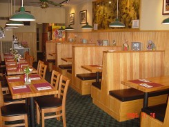 Restaurant dining room - Gordy's Burger House Bronxville-Eastchester, NY